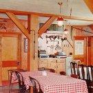 Ox Yoke Inn Restaurant in Amana Iowa IA Chrome Postcard - 1949