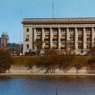 Municipal Court and Public Safety Buildings in Des Moines Iowa IA Postcard - 1950