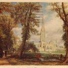 Salisbury Cathedral From Bishop's Garden United Kingdom Postcard - 2018