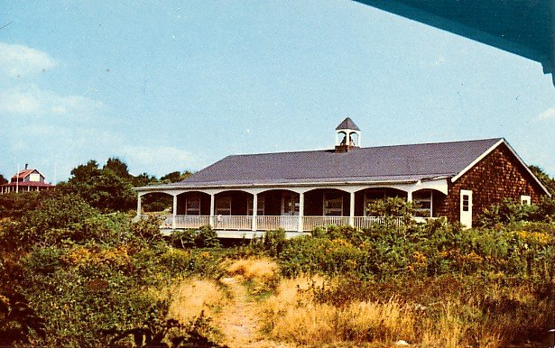 Community Hall at Bakers Island in Salem Massachusetts MA Postcard - 2033