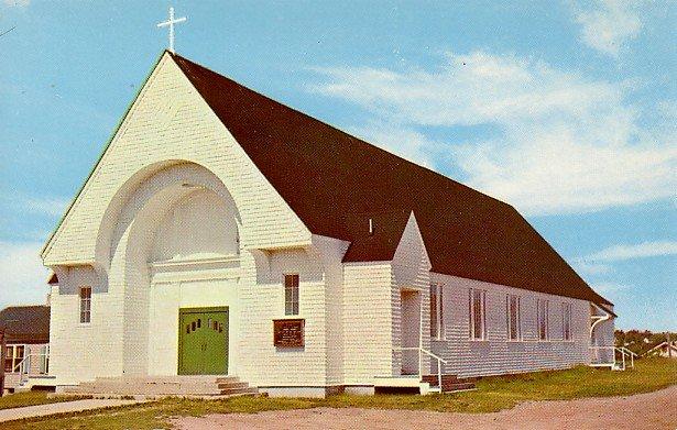 St. Marys Catholic Church in Wells Beach, Maine ME Chrome Postcard - 2038