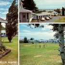 Wonderview Motor Village on US Route 1 in Wells Maine ME Chrome Postcard - 2039