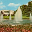 White House Looking South, Washington D.C. Chrome Postcard - 2106