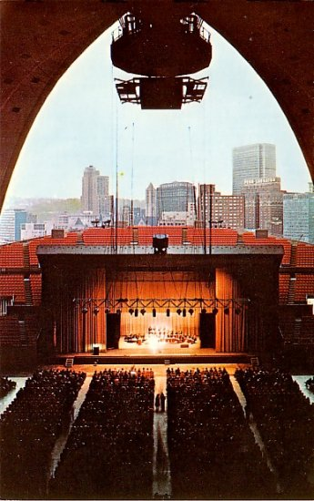 Annual Jazz Festival Annual Jazz Festival in Pittsburgh, Pennsylvania PA Chrome Postcard - 2129