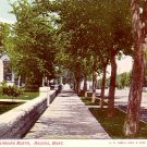 Ewing Street Looking North in Helena Montana MT Vintage Postcard - 2158