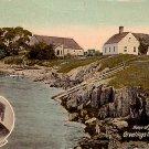 Greetings from Casco Bay, Portland Maine ME Vintage Postcard - 2236