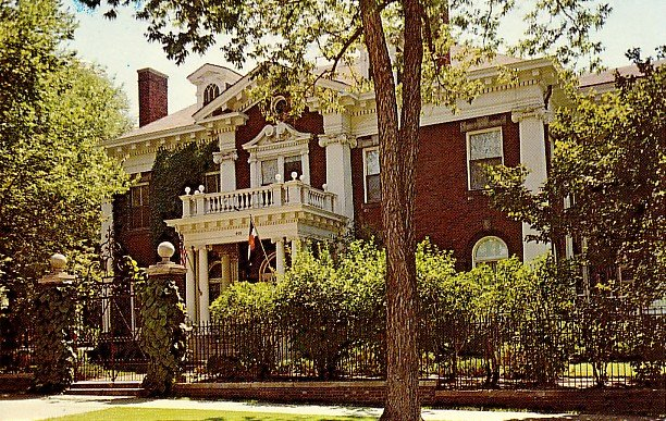 Colorado's Governor's Mansion in Denver CO, Chrome Postcard - 2288
