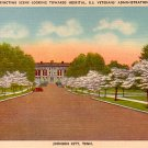 United States Veterans Administration Hospital in Johnson City Tennessee TN Postcard - 2317