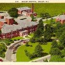 Hospital in Shelby North Carolina NC, Mid Century Linen Postcard - 2380