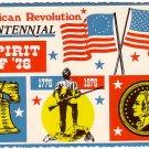 Spirit of '76, American Bicentennial 1976 Chrome Postcard - 2405