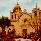 San Carlos Mission in Carmel California CA Union Oil Company Postcard - 2443
