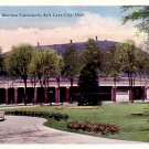 Mormon Tabernacle Salt Lake City Utah UT, Linen Postcard - 2457