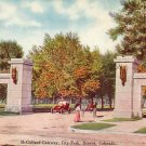 McClelland Gateway to City Park in Denver Colorado CO, 1911 Vintage Postcard - 2469