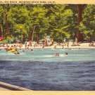 Swimming Pool in Big Basin Redwood State Park, California 1948 Postcard - 2503