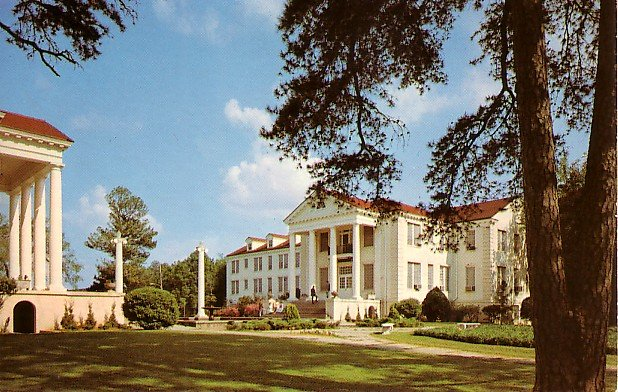 Fitzhugh & Preston Hall at Belhaven College in Jackson Mississippi MS, Postcard - 2515
