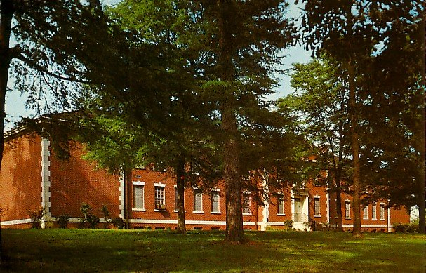 Science Building at Belhaven College in Jackson Mississippi MS, Chrome Postcard - 2517