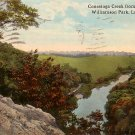 Conestoga Creek from Indian Rock at Williamson Park in Lancaster Pennsylvania PA, Postcard - 2528