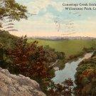 Conestoga Creek from Indian Rock at Williamson Park in Lancaster Pennsylvania PA, Postcard - 2528