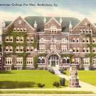 Moravian College For Men in Bethlehem Pennsylvania PA Linen Postcard - 2559