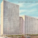 New City County Building in Detroit Michigan MI, 1958 Linen Postcard - 2582