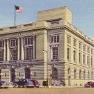United States Post Office in Spokane Washington WA, Curt Teich 1948 Linen Postcard - 2592