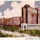 Main Building of Percy Jones General Hospital in Battle Creek Michigan Postcard - 2643