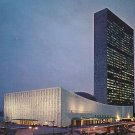 United Nations Heqadquarters in New York City NY, Chrome Postcard - 2646