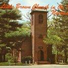 The Little Brown Church in the Vale in Nahua Iowa IA, Chrome Postcard - 2665