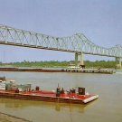 Mississippi Arkansas Bridge in Clarksdale Mississippi MS, Chrome Postcard - 2731