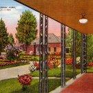 Rose Garden at Audubon Park in New Orleans Louisiana LA, 1947 Linen Postcard - 2778