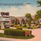 Hawaiian Tourist Court in Knoxville Maryland MD, Linen Postcard - 2827