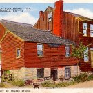 Home of Huckleberry Finn in Hannibal Missouri MO, Linen Postcard - 2866
