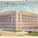 General Post Office in Kansas City Missouri MO, 1934 Curt Teich Postcard - 2879