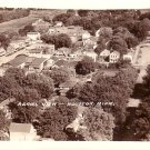 Aerial View of Houston Minnesota MN, Real Photo Post Card RPPC - 2919