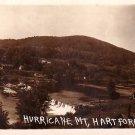 Hurricane Mountain in Hartford Vermont VT, Real Photo Post Card RPPC - 2956