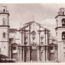 The Cathedral in Havana Cuba, Real Photo Post Card RPPC - 2963