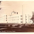 Providence Hospital in Anchorage Alaska AK, Real Photo Post Card RPPC - 2966