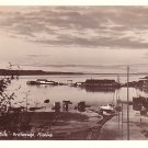 33 Foot Tide in Anchorage Alaska AK, Real Photo Post Card RPPC - 2967