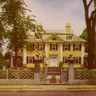Longfellow Home in Cambridge Massachusetts MA, Chrome Postcard - 3016