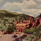 Hidden Inn at Garden of the gods in Colorado CO, 1949 Curt Teich Postcard - 3079