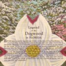 Legend of the Dogwood in Florida FL, 1952 Curt Teich Linen Postcard - 3119
