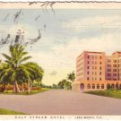 Gulf Stream Hotel at Lake Worth Florida FL, 1931 Curt Teich Postcard - 3144
