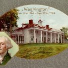 George Washington Patriotic Memorial, 1909 John O. Winsch Vintage Postcard - 3200