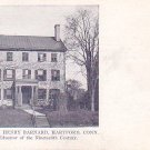 Home of Hon. Henry Barnard at Hartford Connecticut CT, Private Mailing Card - 3240