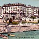 Hotel Beau Rivage at Geneva Switzerland, Vintage Postcard - 3284