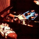 Space Mountain Roller Coaster at The Magic Kingdom in Walt Disney World Florida FL, Postcard - 3327