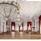 East Room of the White House in Washington DC, 1921 Vintage Postcard - 3388