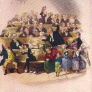 Scene from the Pickwick Papers, In Dickens Land, Raphael Tuck & Sons Vintage Postcard - 3402