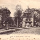 Otsego and Morgan Streets at Ilion New York NY, 1906 Vintage Postcard - 3415