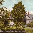 Quarry Farm, Summer Home of Mark Twain at Elmira New York NY, 1907 Vintage Postcard - 3423